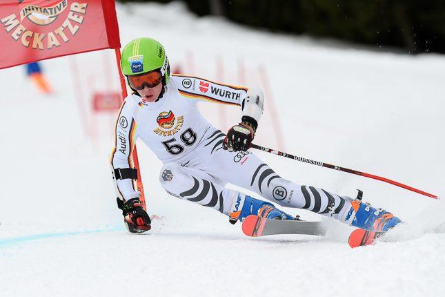 Felix Rösle: Gleich beim ersten Rennen in den U16 auf dem Podest.